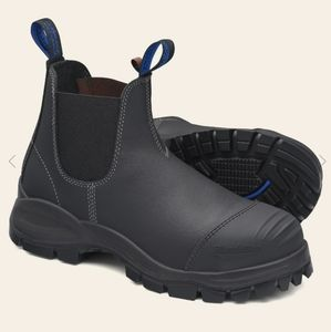 ALMOST NEW BLUNDSTONE STEEL TOE WORK BOOT USA 13